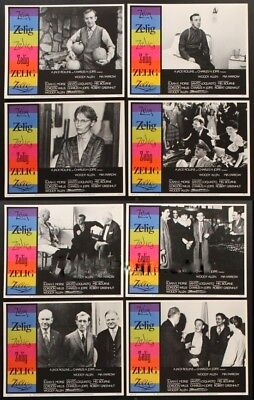 Zelig Original Mint 11X14 Lobby Card Set 1983 Woody Allen