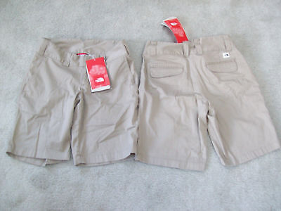 The North Face Women's Noble Stretch TEKWARE Bermuda Shorts DUNE BEIGE SZ 4 Or 6