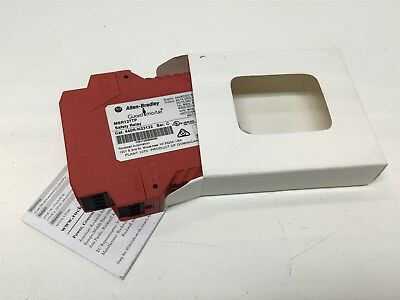 Allen Bradley MSR127TP Guardmaster Safety Relay Module 24VAC/DC, 50/60Hz, 250VAC
