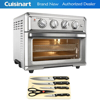 Cuisinart Convection Toaster Oven Air Fryer with 2-Piece Knife Set & Cutting Boa