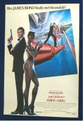 A View To A Kill Original International Style Rolled Movie Poster James Bond 007