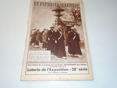 P Illustre N°22 Gaz  Moutarde -Promenade Enfants Royaux Laeken  - Pub  1936