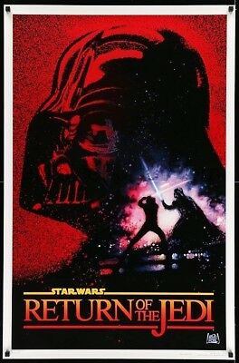 Return Of The Jedi 10Th Anniversary Advance Rolled Mint 27X41 Movie Poster 1993