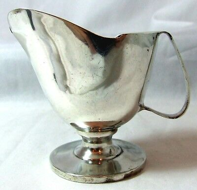 Solid Silver Georgian Cream Jug 1810 67g and 77mm tall - maker rubbed
