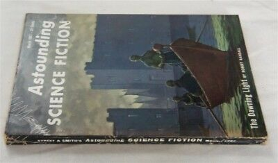 Astounding Science Fiction Pulp March 1957 Fine Isaac Asimov