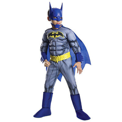 Rubie's Batman Unlimited Deluxe Muscle Chest Costume Set Boys Small New!! 18406
