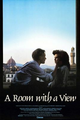 A Room With A View Original Rolled Rare 27X41 Movie Poster 1985 Maggie Smith