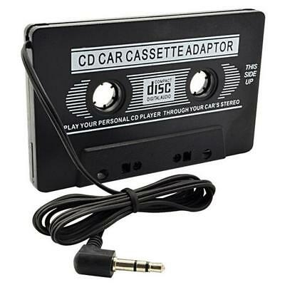 Audio Cassette Tape Adapter Aux Cable Cord 3.5mm Jack fr to MP3 iPod Player GA