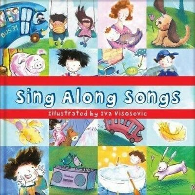 New, Square Paperback Book - Sing Along Songs, Visosevic, Iva, Book