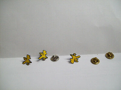 3x CONDOR JAMES RIZZI älterer Airline Pin PIN'S PINS AIR AIRLINE Airlines #33