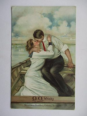 Stromness Distillery , Orkney - Romantic Advertising Postcard - O.o. Whisky