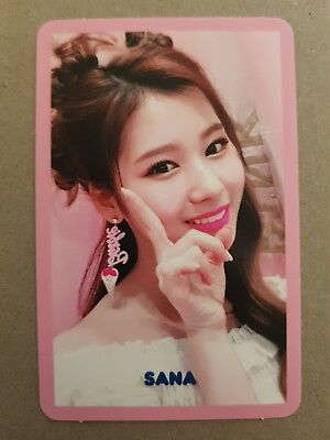 TWICE SANA Authentic Official PHOTOCARD #2 SIGNAL 4th Album Photo Card 사나