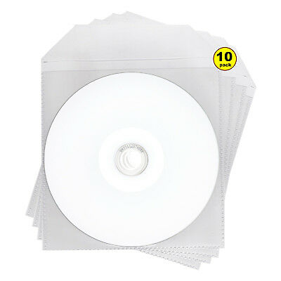 10 x Ritek Blank DVD-R G05 Full Face Inkjet Printable Disc 8x 4.7GB in Sleeve