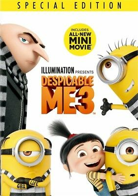 Despicable Me 3 (DVD, 2017)