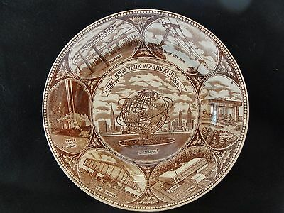 Souvenir Collectors Plate New York Worlds Fair 1964-1965