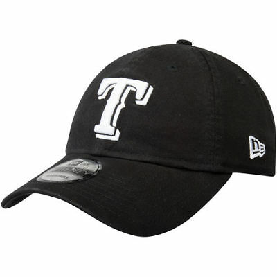 3fc749b2f4c Texas Rangers New Era Core Classic Twill 9TWENTY Adjustable Hat - Black