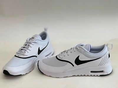 80b00d9058b NIB WOMENS SIZE 9 Nike Air Max Thea Sneakers White 599409 108 ...