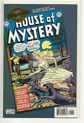 Dc Comics Millenium Edition House Of Mystery #1! Vf-Nm!