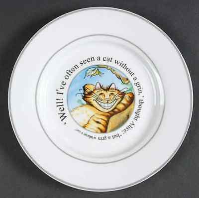 Cardew Design ALICE IN WONDERLAND'S CAFE Cheshire Cat Salad Plate 8231899