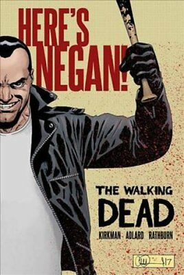 The Walking Dead: Here's Negan by Charlie Adlard 9781534303270 (Hardback, 2017)