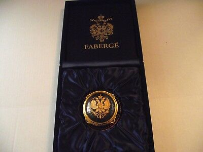 Faberge Heavy Paper Weight limited edition number 165