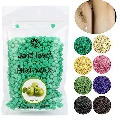 50g Hot Film Hard Wax Pellet Waxing No Strip Depilatory Bikini Hair Removal Bean