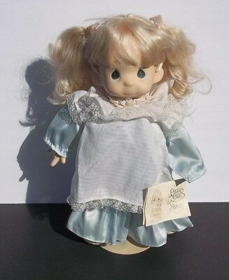 "Precious Moments 15"" Missy Doll W/Stand/Tag ""Happiness is the Lord"" Sam Butcher"
