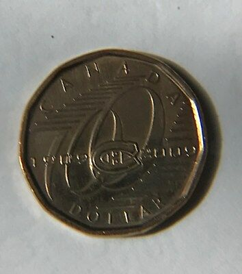 2009 MONTREAL CANADIENS (NHL Hockey) 100th Anniversary CANADA LOONIE