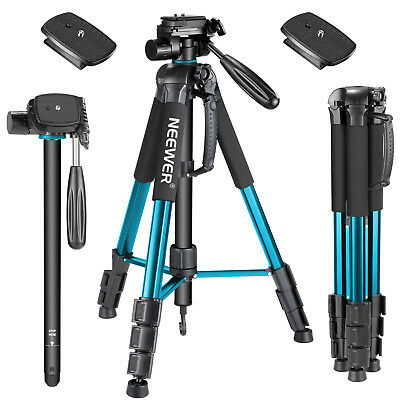 "Neewer 70"" DSRL Camera Tripod Monopod Aluminium with Pan Head Quick Shoe Plate"
