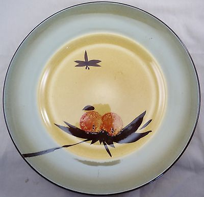 Porthmadog Studio Pottery Plate (Unusual - Japanese inspired?)