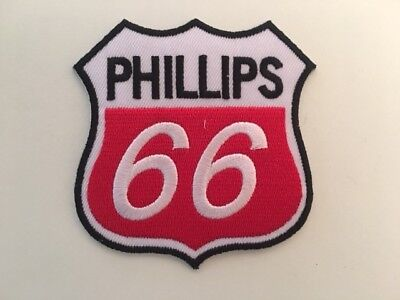 A402 // Ecusson Patch Aufnaher Toppa / Neuf / Phillips 66 / 7.5*8 Cm