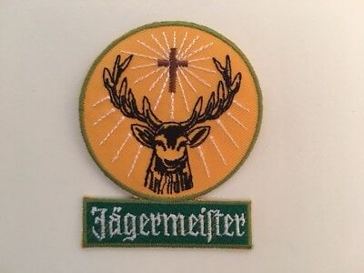 A397 // Ecusson Patch Aufnaher Toppa / Neuf / Jagermeister / 7*8.5 Cm