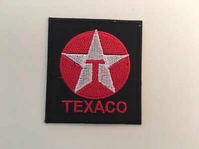 A410 // Ecusson Patch Aufnaher Toppa / Neuf / Texaco / 5.5*6 Cm