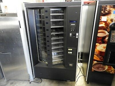 Automatic Products Showcase 748 Cold Food Vending Machine PARTS UNTESTED