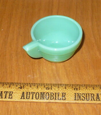 Akro Agate Childs Dishes / Jadite Cup