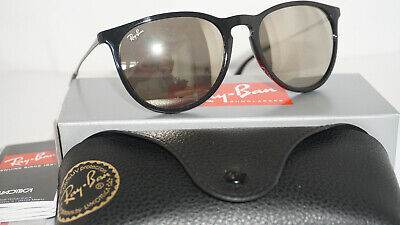 db4f8ef93c3 RAY BAN NEW Sunglasses Erika Black Gold Mirror RB4171 601 5A 54 145 ...