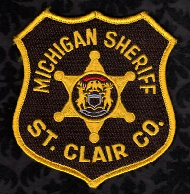 St. Clair County Michigan Sheriff Shoulder Patch