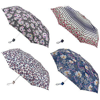 Fulton Painted Peonies Acid Leopard Nautical Rose Bird Minilite-2 Umbrella