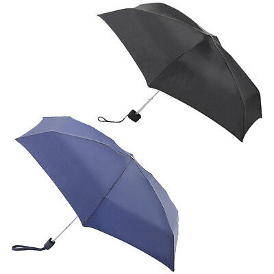 Fulton Black Navy Tiny-1 Compact Umbrella Brolly Wind Resistant
