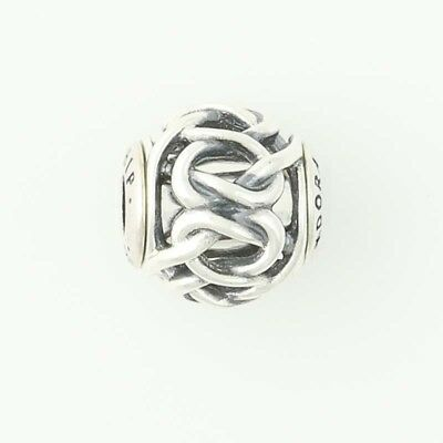 f367c0ec622d6 NEW AUTHENTIC PANDORA Essence Friendship Charm - Sterling Silver Bead 796057