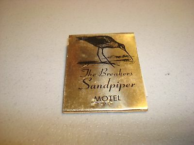 Rare Vintage Matches The Breakers Sandpiper Ocean Front Motel Lincoln City OR!