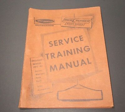 1965 Mercruiser Stern Drives Service Training Manual General Info Kiekhaefer