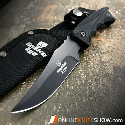 "8.5"" Tactical Military Fixed Blade Survival Hunting Karambit Boot Knife + Sheath"