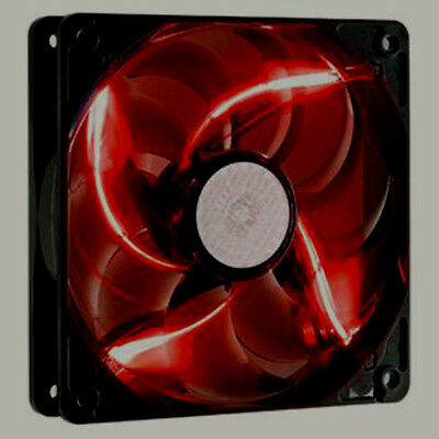 Lot of 6 Fans  Cooler Master SickleFlow 120mm R4-L2R-20AR-R1 Red LED