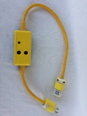 HUBBELL GFP3C20M  Portable Ground Fault Circuit Interrupter GFCI Protector