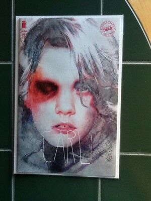 "The Walking Dead Issue #179 Variant Cover ""Carl"" Image Comics Sienkiewicz"