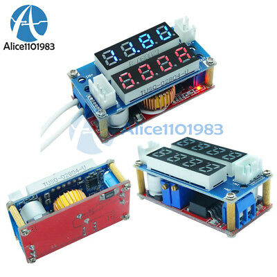 CC/CV Adjustable 5A Step down Charge LED Panel Voltmeter Ammeter Display Module