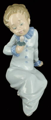 Vintage Lladro Baby with Pacifier Porcelain Figurine Retired #5099 No Box
