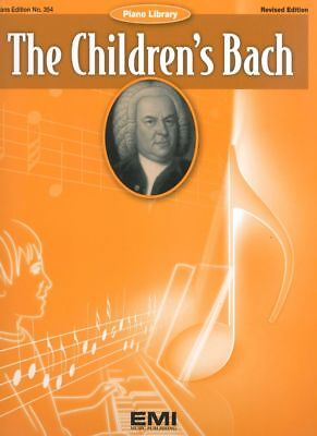 The Children's Bach Piano Book *NEW* Sheet Music, Revised Edition