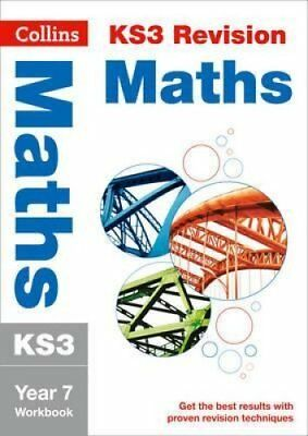 KS3 Maths Year 7 Workbook by Collins KS3 9780007562664 (Paperback, 2014)